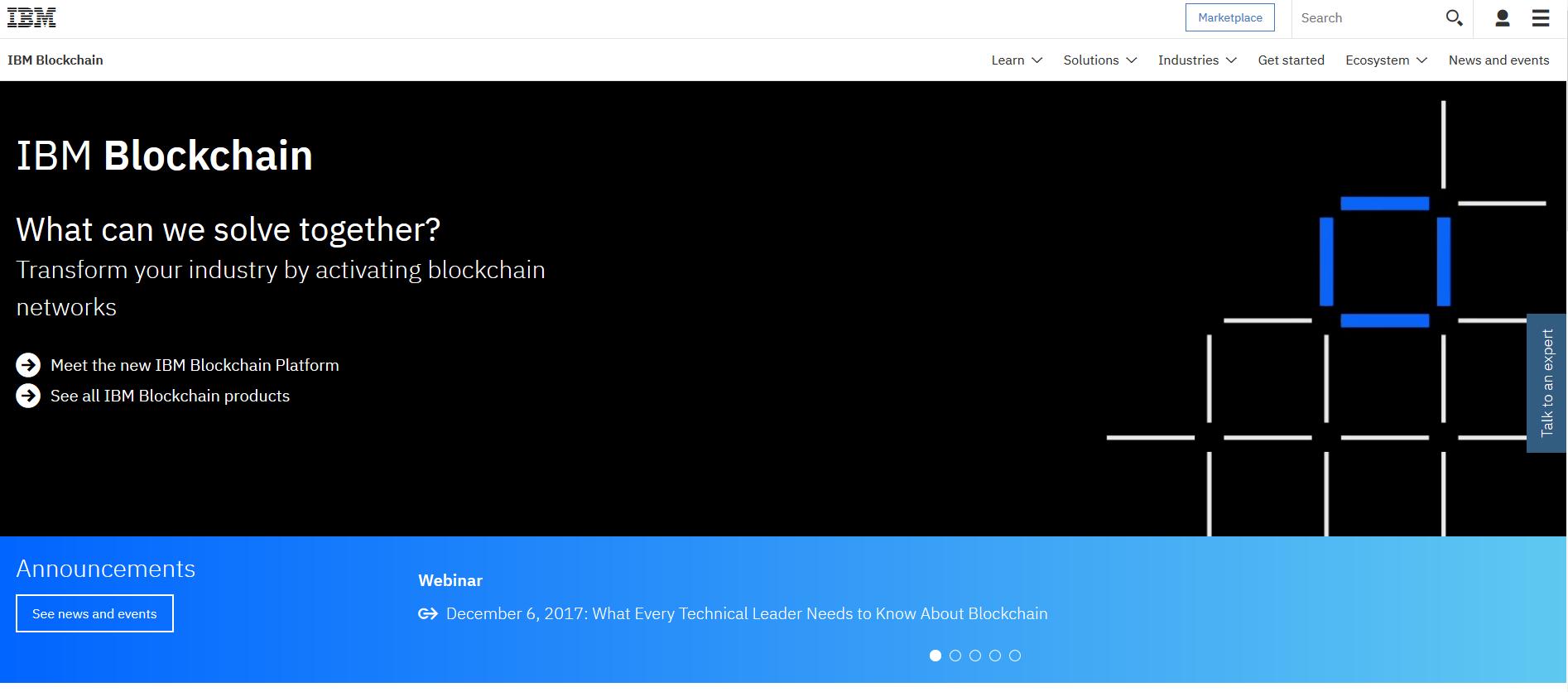 IBM blockchain as a service