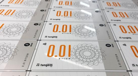 billete bitcoin