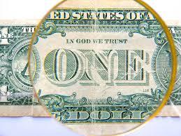 detalle de dólar