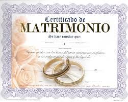 certificado matrimonio blockchain