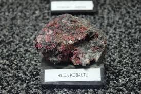 ejemplo de mineral de cobalto