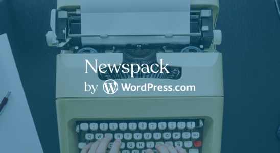 newspack by wordpress