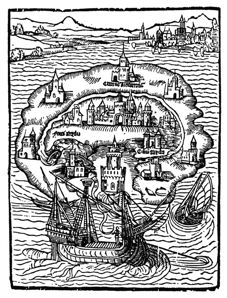 La isla Utopía de Tomás Moro