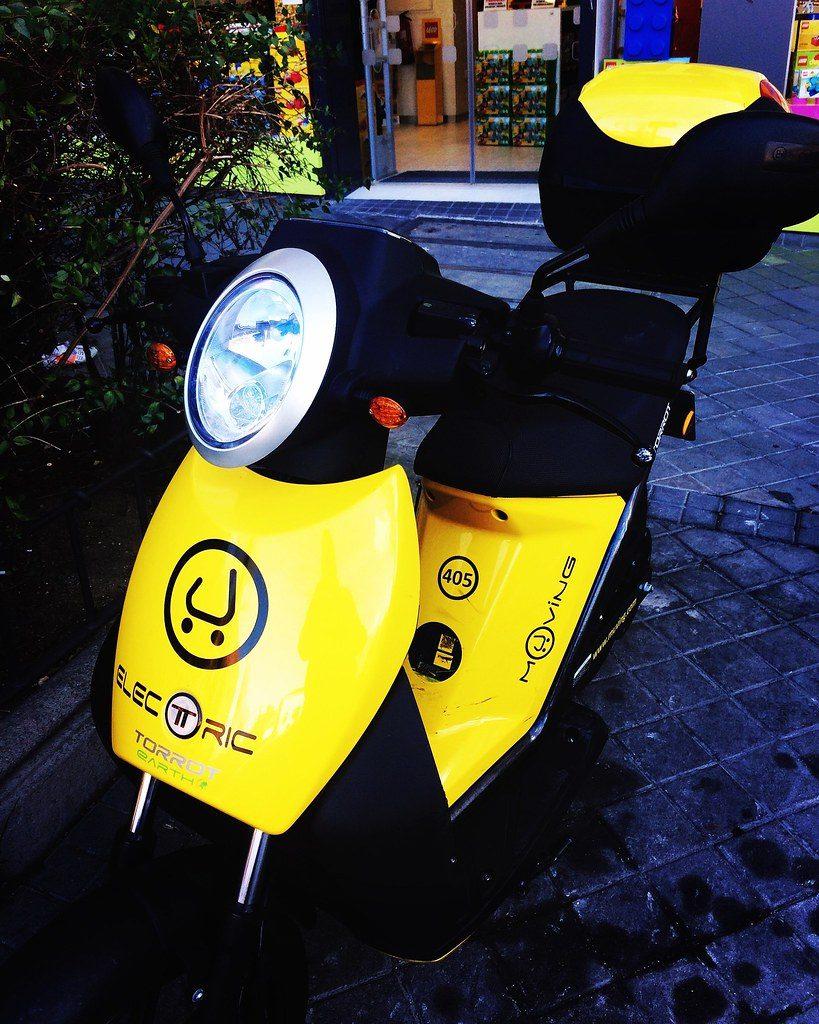 moto elécrica sharing muving