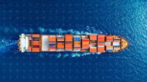 blockchain transporte maritimo