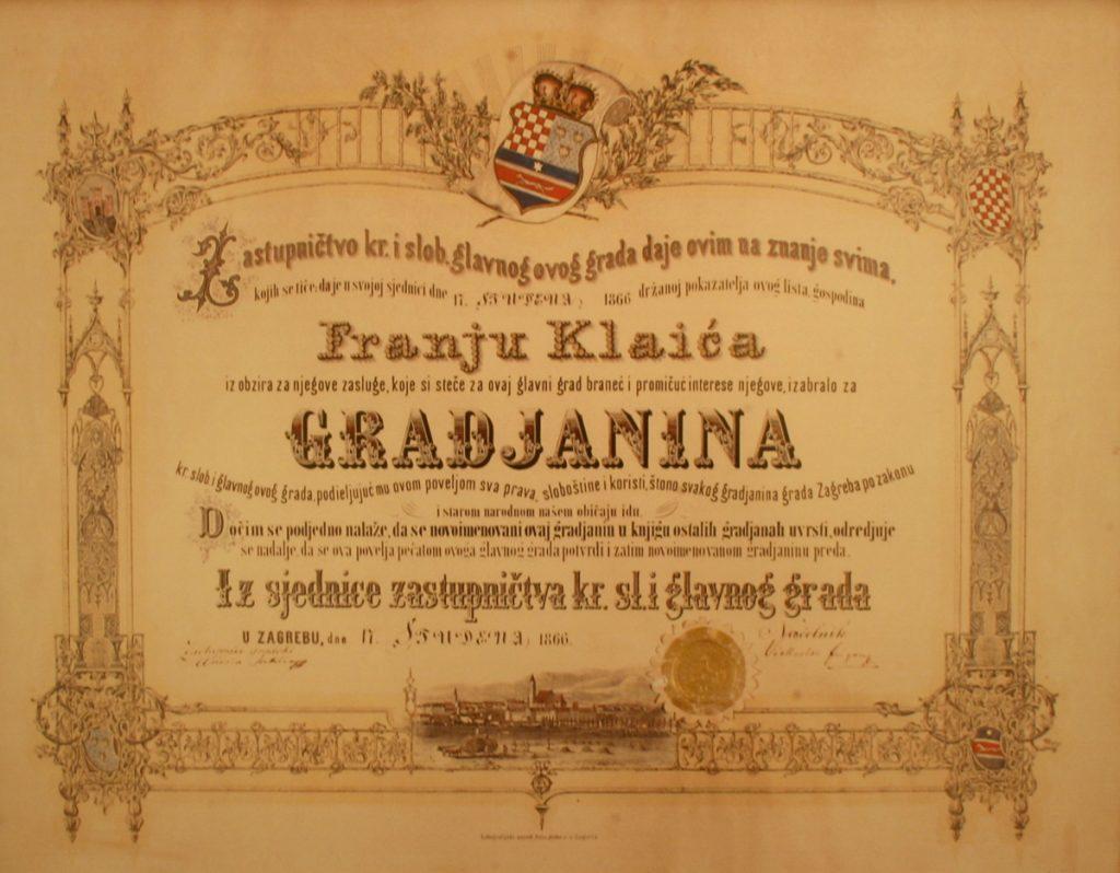 diploma antiguo