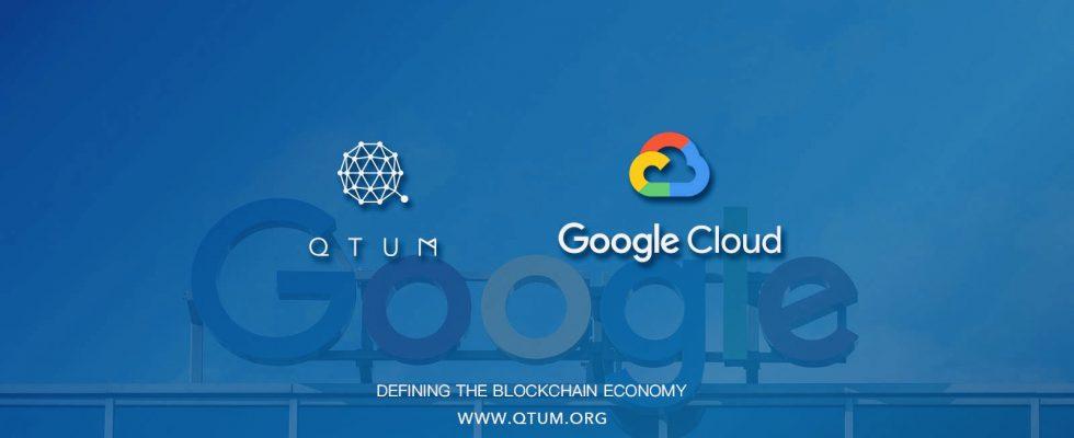 asociacion qtum googleclud