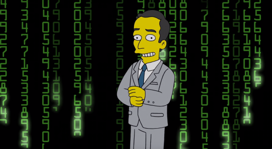 los simpson blockchain