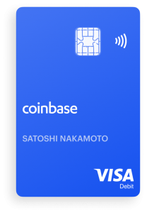 tarjeta criptomonedas coinbase